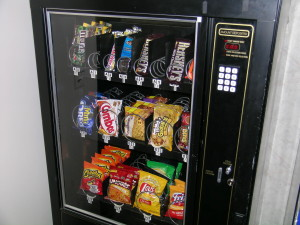 Cashless Payments Conquering Vending Machine Industry